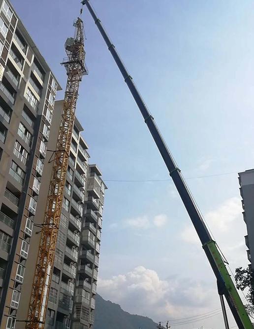 吊车塔吊组装